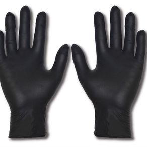 Nitrile Disposible Gloves - Black